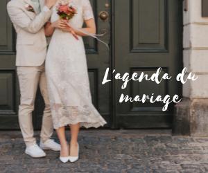 L'Agenda du mariage en France 2019