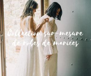 Collection sur-mesure de robes de mariées 2022