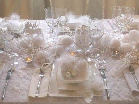Magnifique décoration de table!! Source Pinterest