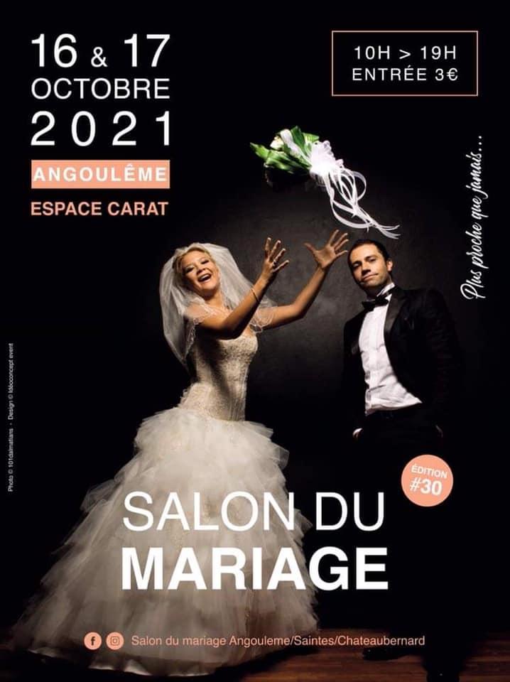 Salon du Mariage à Saintes - 25 et 26 Septembre 2021