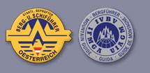 Logo staatlich geprüfte Bergführer