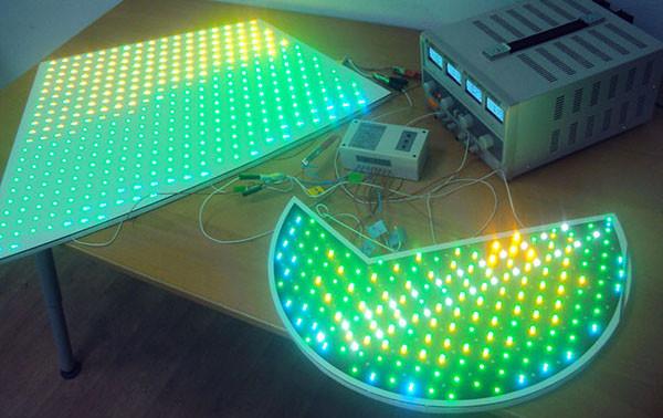 светодиодные панели для рекламы