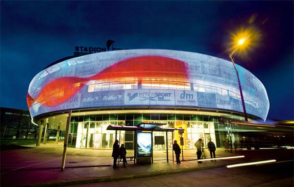 медиафасады для стадионов к 2018