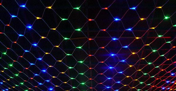 светодиодная сетка экрана