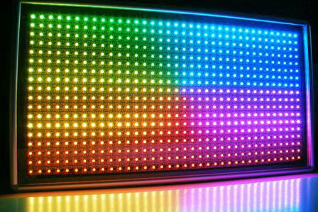 яркость светодиодного экрана