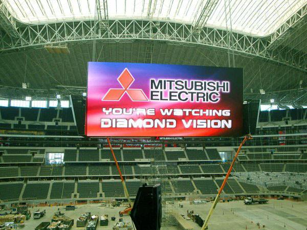 светодиодные экраны на стадионах европы