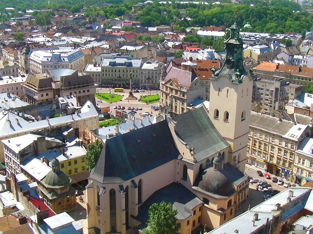 The Latin Cathedral in Lviv