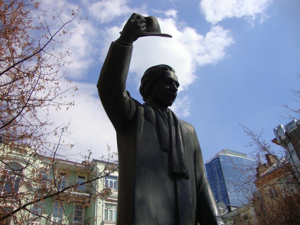 Sholem Aleichem monument