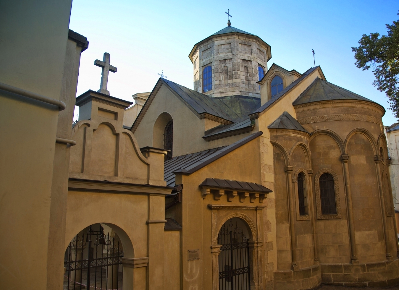 The Armenian Cathedral in Lviv