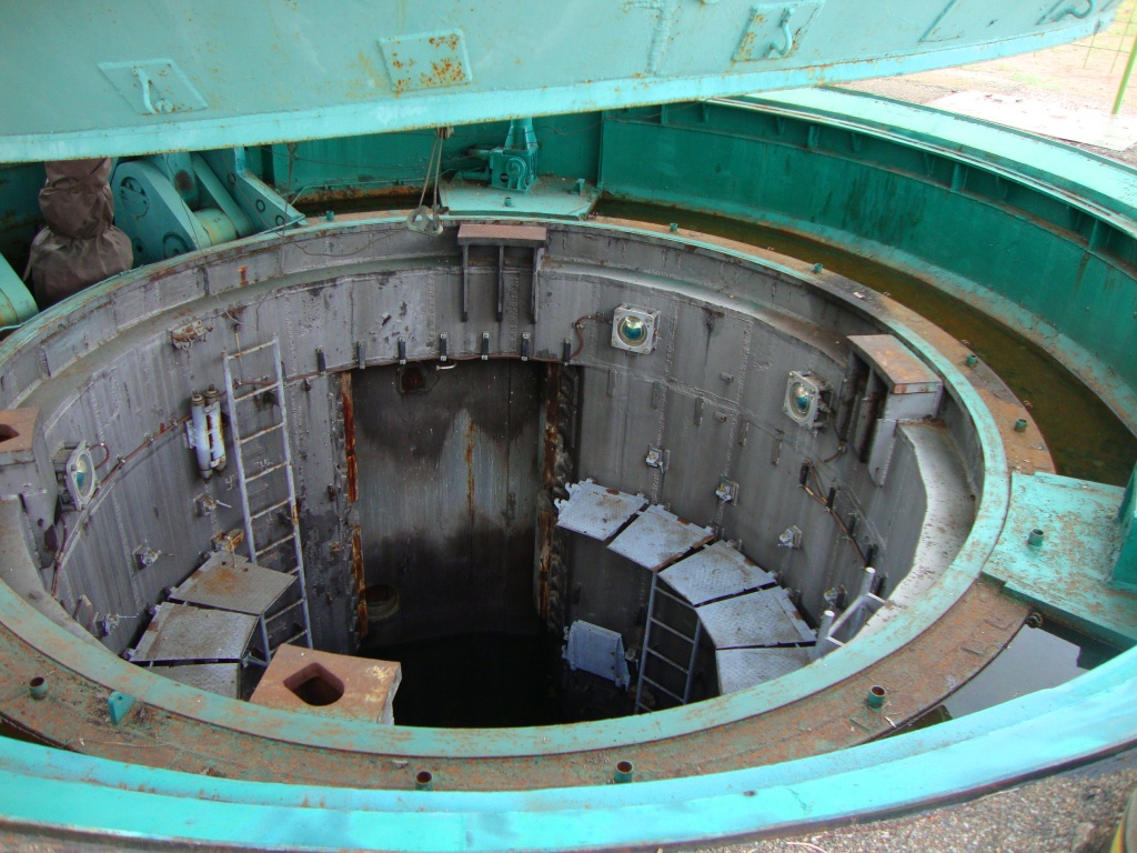 Inside of the missile silo