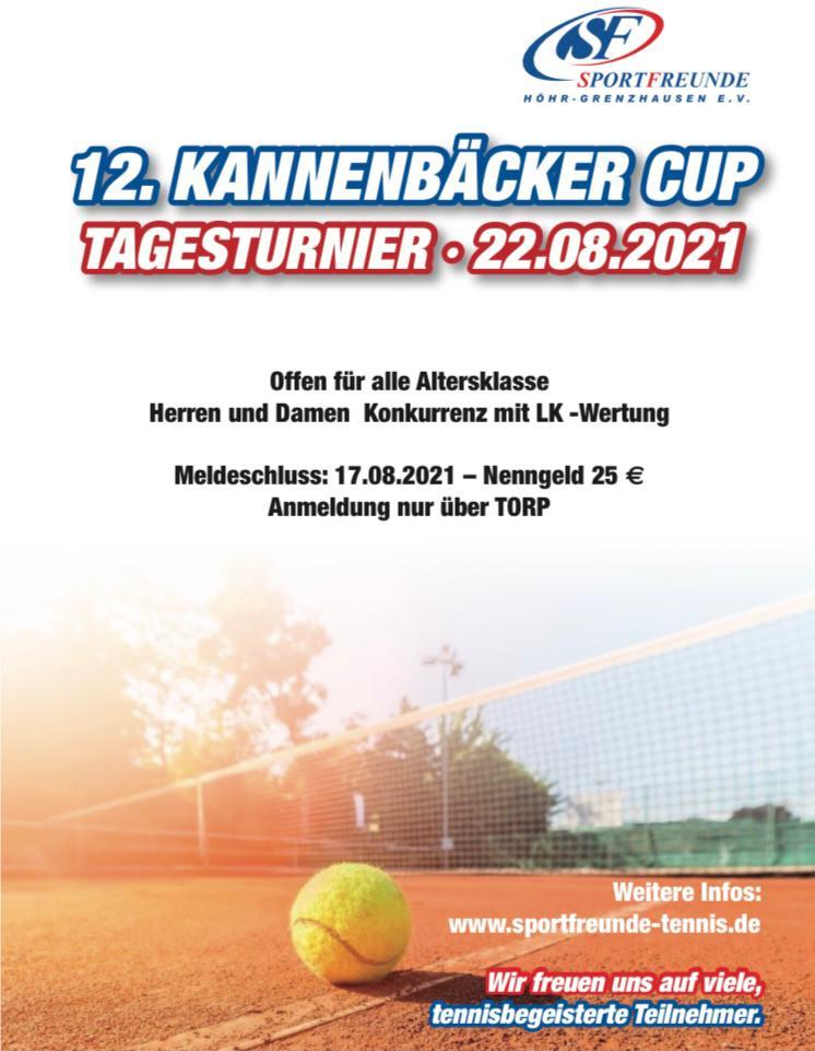 12. Kannenbäcker Cup 2021