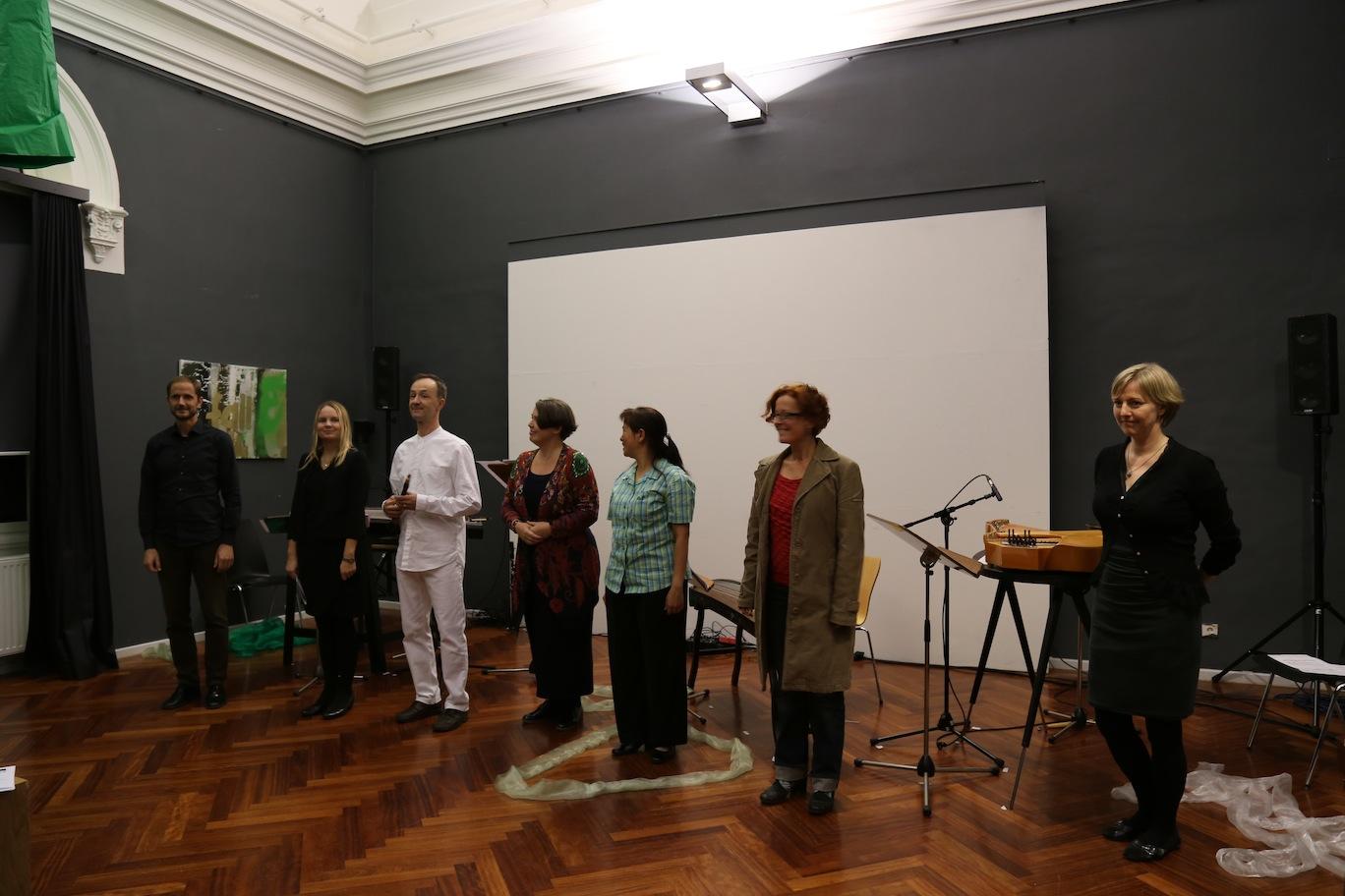 Martin Mallaun, Maria Kallionpää, Mikko Raasakka, Adina Dumitrescu, Ming Wang, Elisabeth Harnik, Eija Kankaanranta