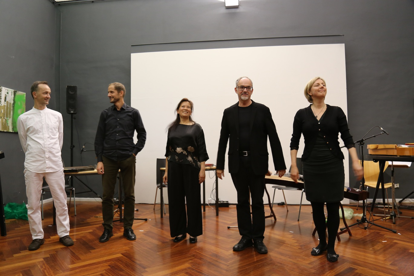 Mikko Raasakka, Martin Mallaun, Ming Wang, Karlheinz Essl, Eija Kankaanranta