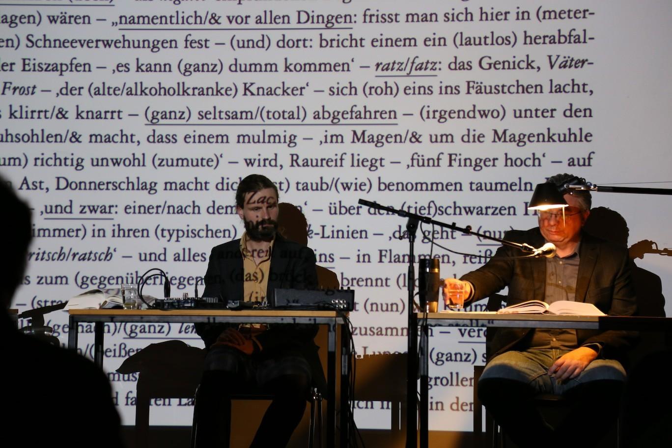 Martin Rumori, Ulrich Schlotmann © Teresa Schnider