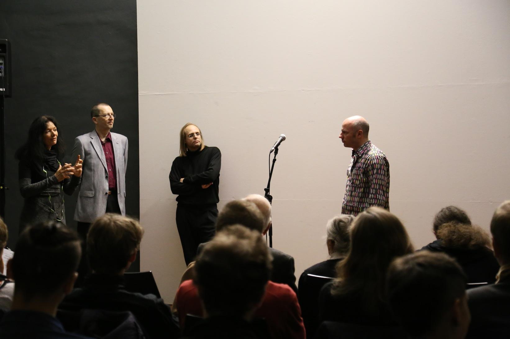 Birgit Pölzl, Daniel Mayer, Oliver Weber, Daniel Wisser