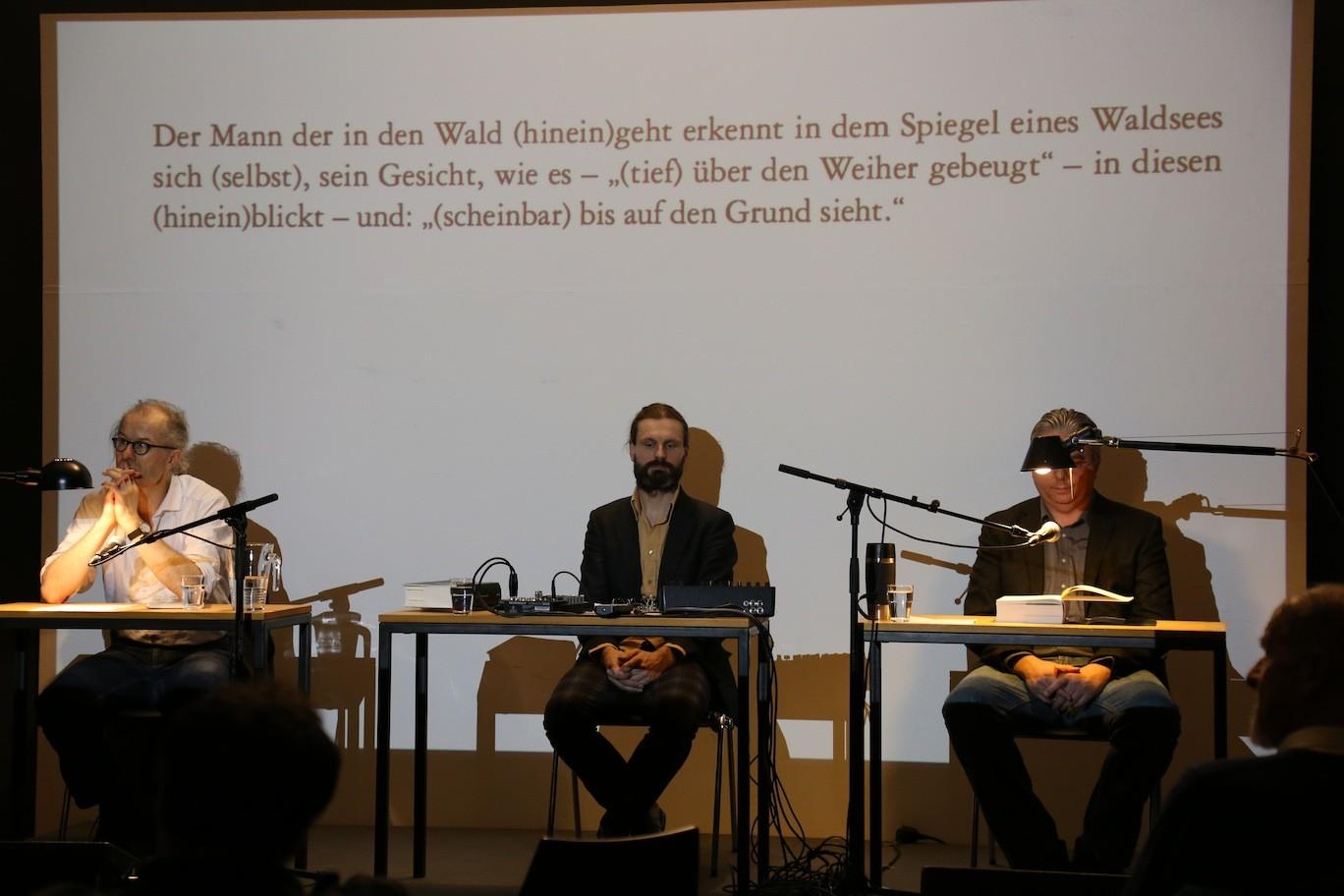 Sebastian Kiefer, Martin Rumori, Ulrich Schlotmann © Teresa Schnider