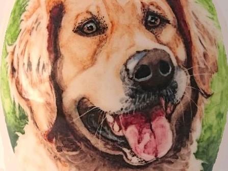Unieke-handbeschilderde-dierenurnen-Gepersonaliseerde-urn-met-portret-hond-Golden-Retriever-urn-hond-Unieke-Handbeschilderde-urnen-Bijzondere-urnen-Maatwerk-Urn-voor-dieren-Handgemaakte-Urnen-Urn-laten-maken-Urn-laten-beschilderen-Hondenurnen