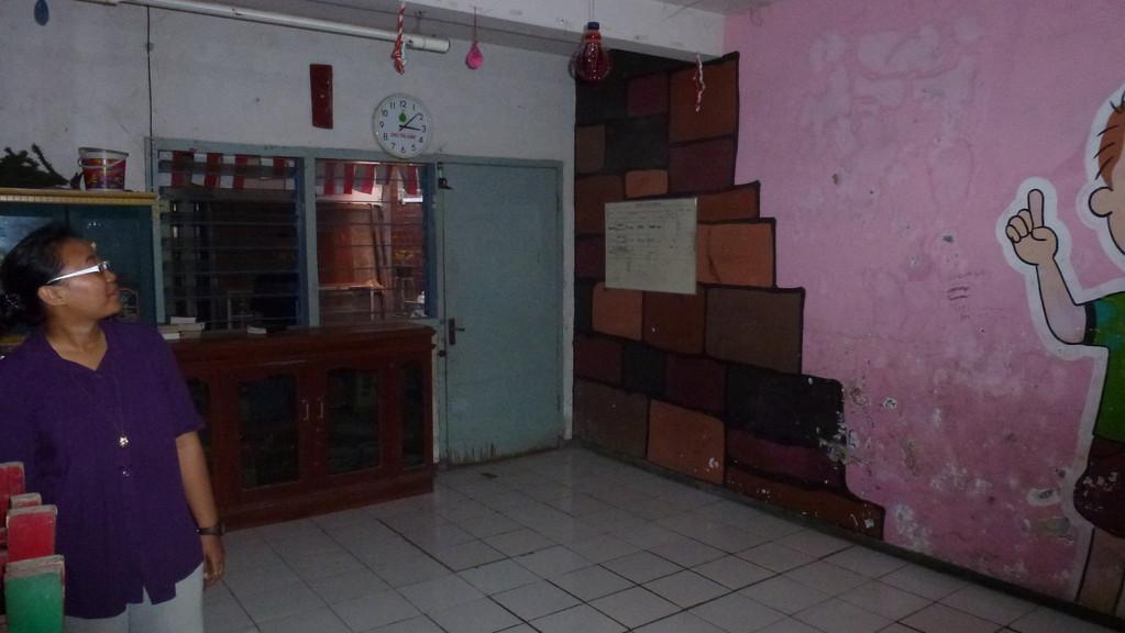 Kindergarten, Tanzstudio,... alles in einem.