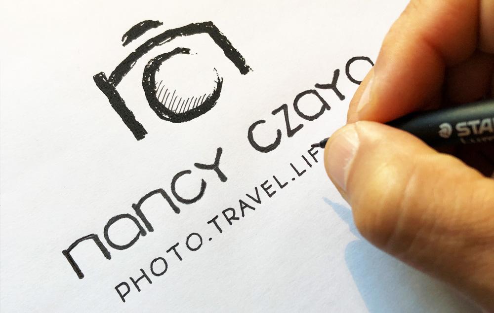 Logo für Fotografin und Weltenbummlerin Nancy Czaya