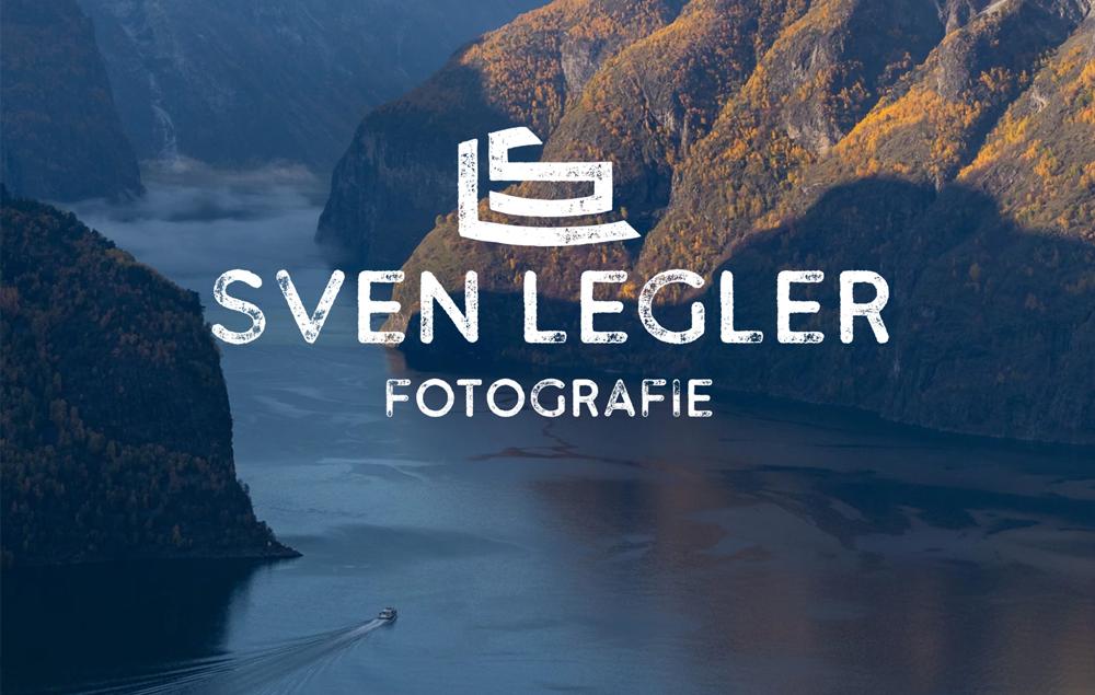Logo für Natur- und Hochzeits-Fotograf Sven Legler