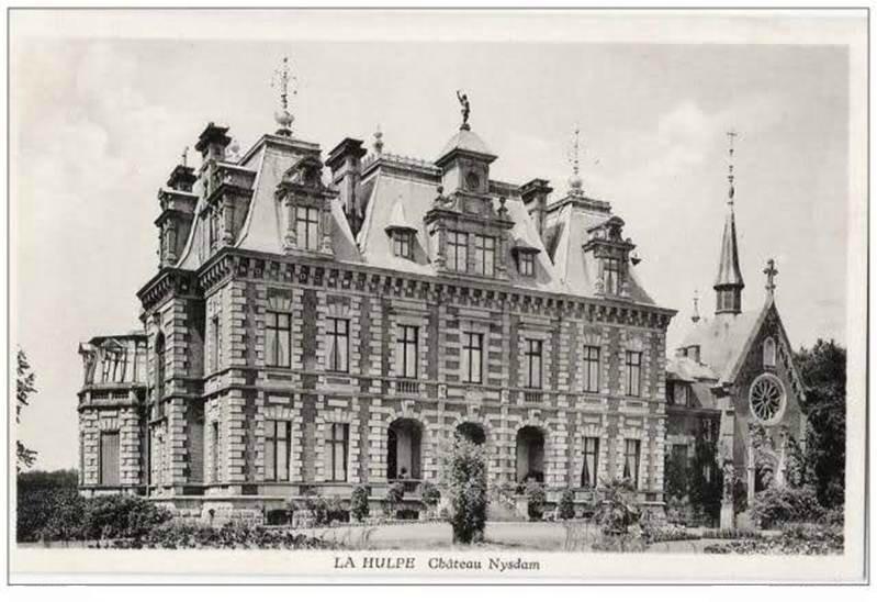 à La Hulpe, propriété du comte et de la comtesse Eugène de Meeûs