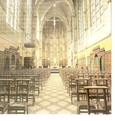 4°) La chapelle du Très Saint Sacrement à Anvers rue du Ciel (Antwerpen, Hemelstraat),  à l'Ordre des Religieuses de l'Adoration perpétuelle