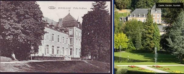 Château Saint –Marc à Rouillon-Annevoie (Province de Namur)