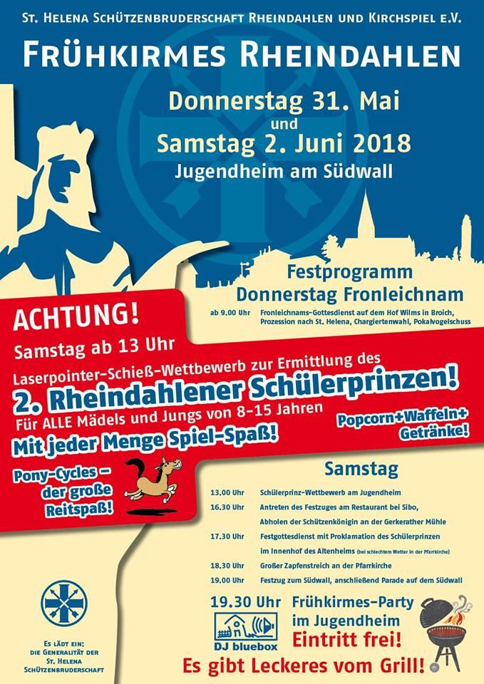 Plakat Frühkirmes 2018