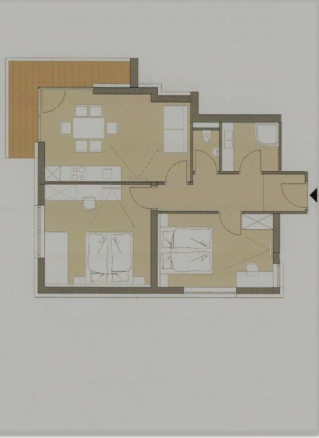 Layout Edelweiss Apartment