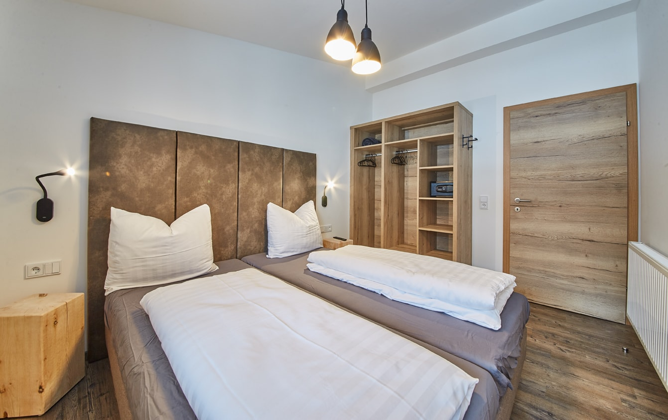 Alpenrose & Arnika sleeping room