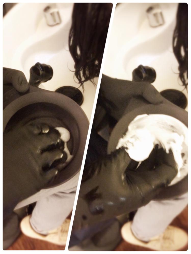 まずは、炭酸シャンプー作り!!!
