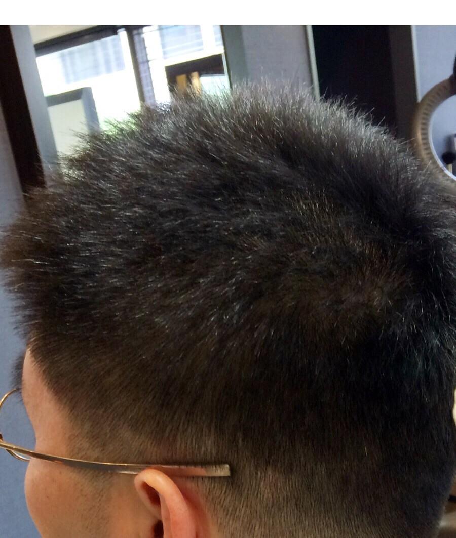 ノンスタイリングのヘア