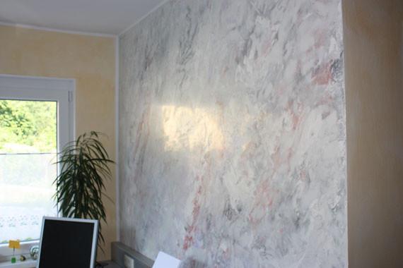Spachteltechnik malerei meisterbetrieb pachler - Venezianische spachteltechnik ...