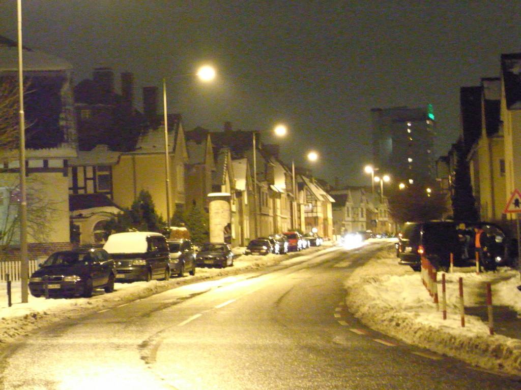 Bayersiedlung by night