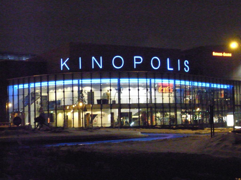 Der neue Kinokomplex im Zentrum