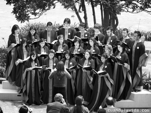 OCIO ES CANTAR. Evento Coros a la Sabana. Coro de Estudiantes Universidad de La Sabana. 2009