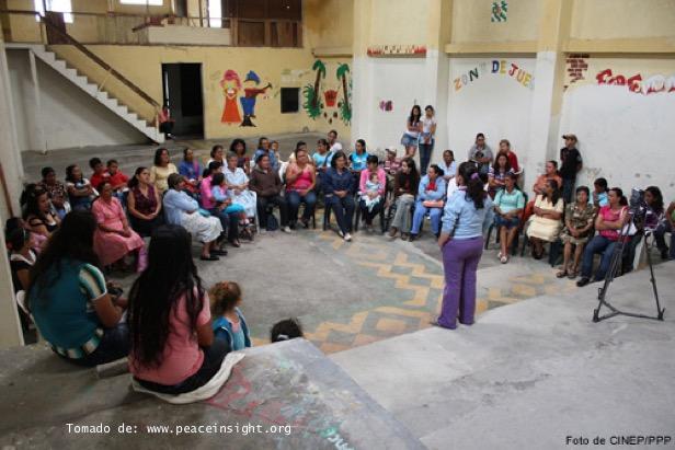 Programa por la paz del Centro de Investigación y Educación Popular