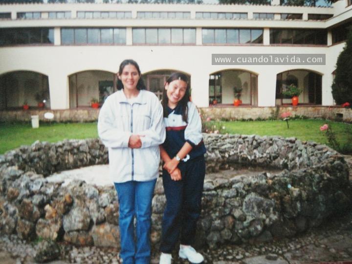 Luz Alba Rocha. Gracias por la biología y por tu confianza en muchas labores. 2003