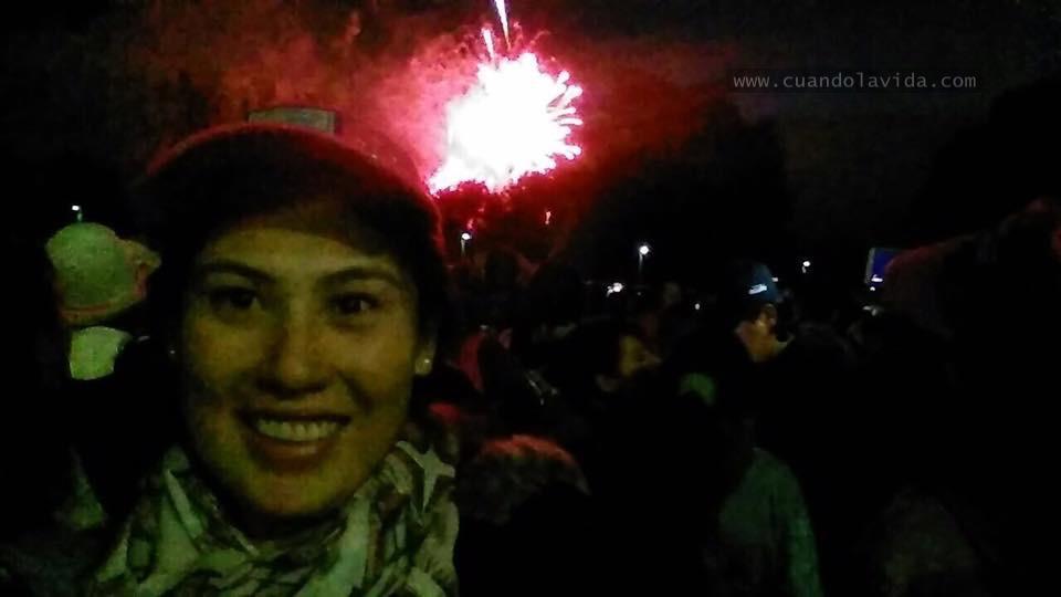 El gran cierre. Fuegos pirotécnicos maravillosos, los mejores que he visto en mi vida.(2017)