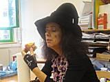 Elisabeth ist eine Gruselhexe, der vor Krapfen nicht gruselt.