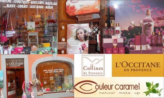 Parfumerie Argeles Gazost L occitane en provence, couleur caramel