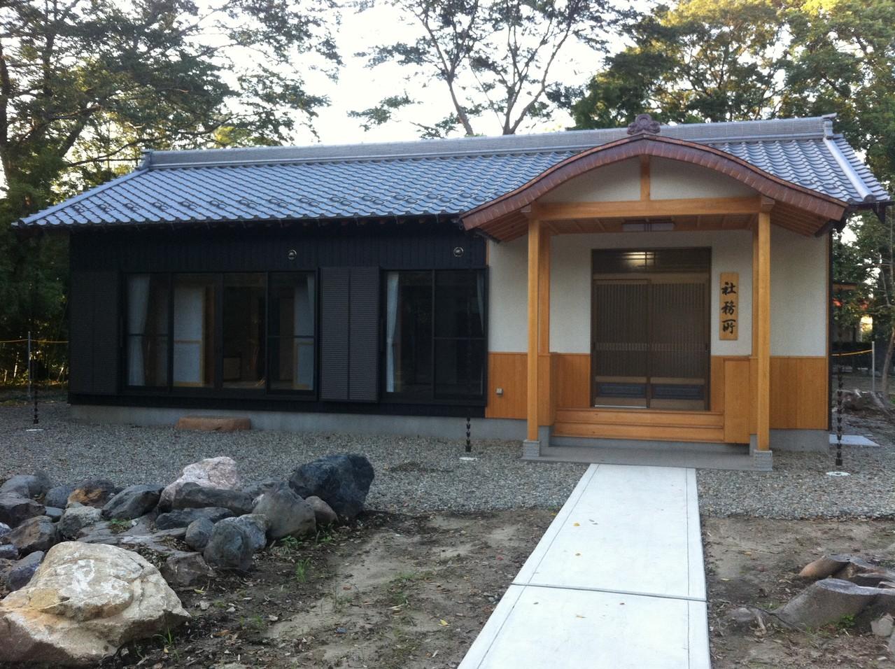 N神社様社務所新築工事