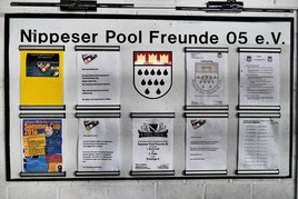 Weitere Infos findest du an der Pinnwand im Cologne Cue Club