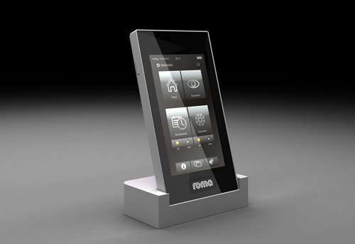 ROMA-Pad, ROMA Rollladensteuerung, Rollladensteuerung-per-Pad, Rollladen-smartphone