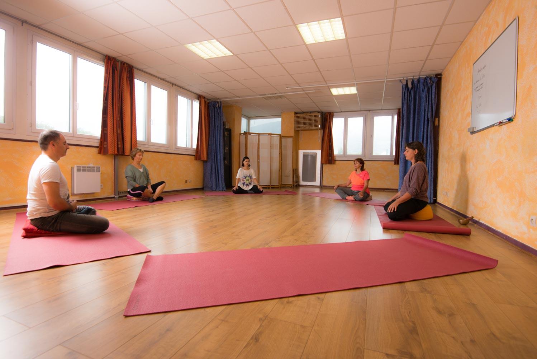 Salle spéciale groupe (salle Yoga)