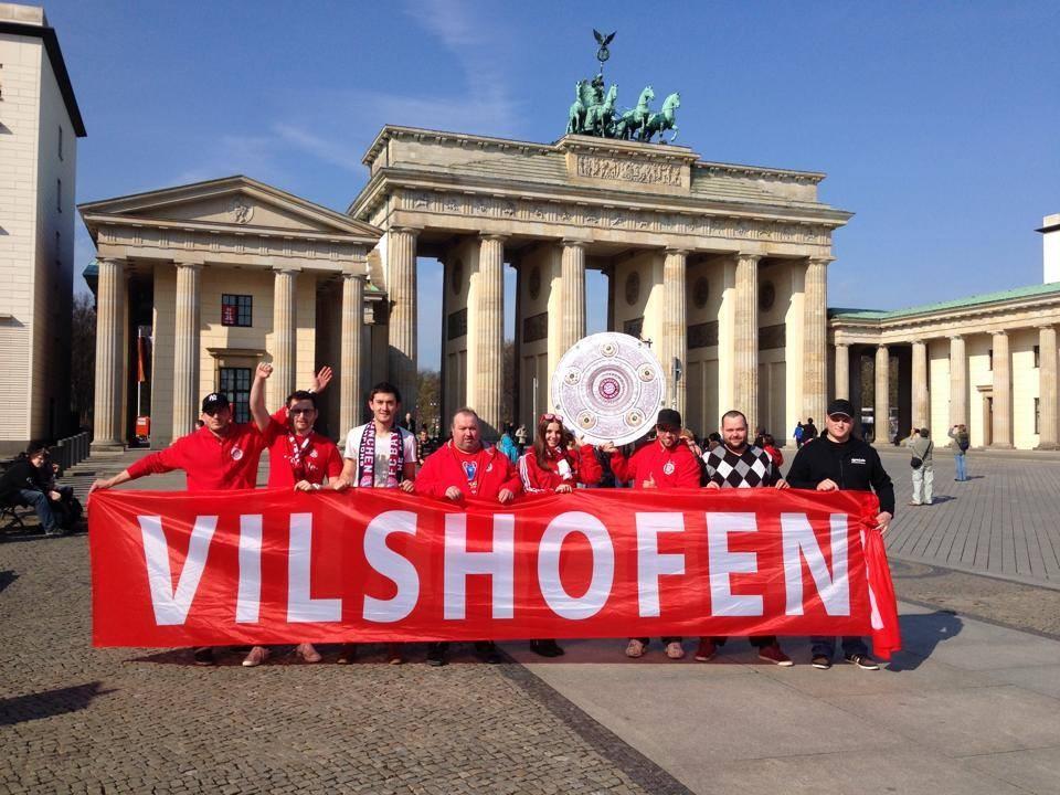 Bundesliga auswärts in Berlin
