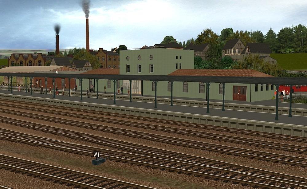 Bhf Horrem Gleisseite