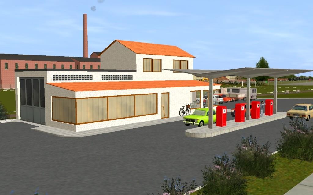 Tankstelle am alten Sportplatz