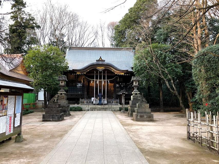石神井の氷川神社