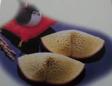 倉敷の銘菓「むらすヾずめ」